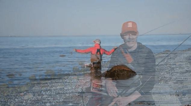 Fiskeri efter havørred i juni
