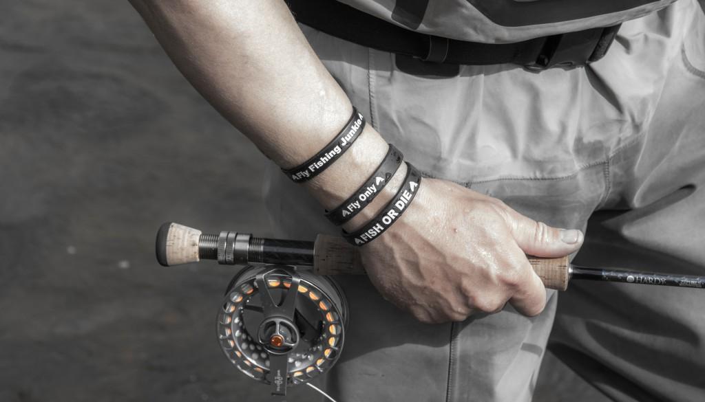 Luksus armbånd til lystfiskeren