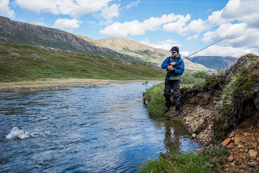 Arctic Char på Grønland et paradis for fjeldørreder