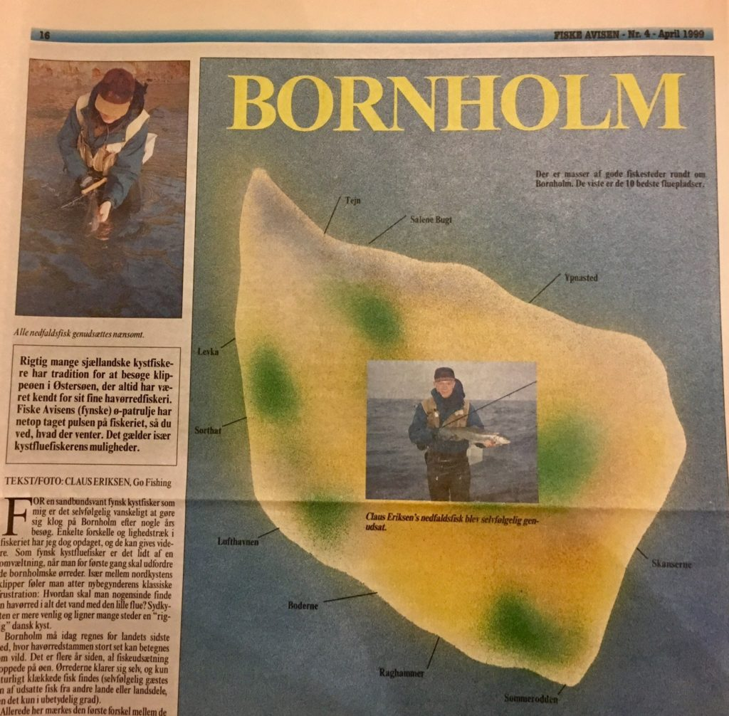 Bornholm en klippeø fyldt med Havørreder