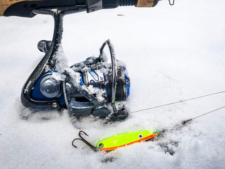 Drop din fletline i frostvejr