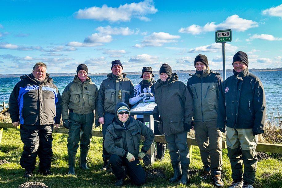 Havørred kursus uden fiskeri - Aflæsning af kysten