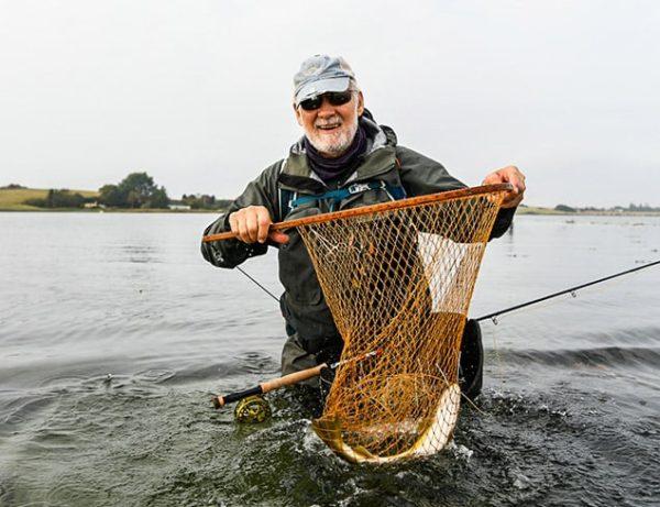 Flot fangst i nettet