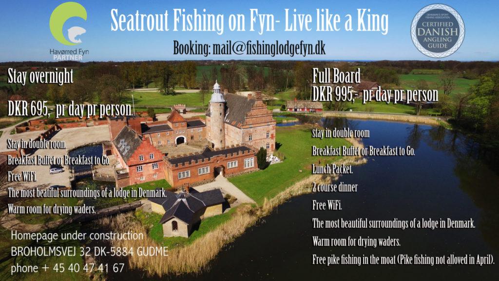 Seatrout Guide Fyn åbner Fishing Lodge Fyn