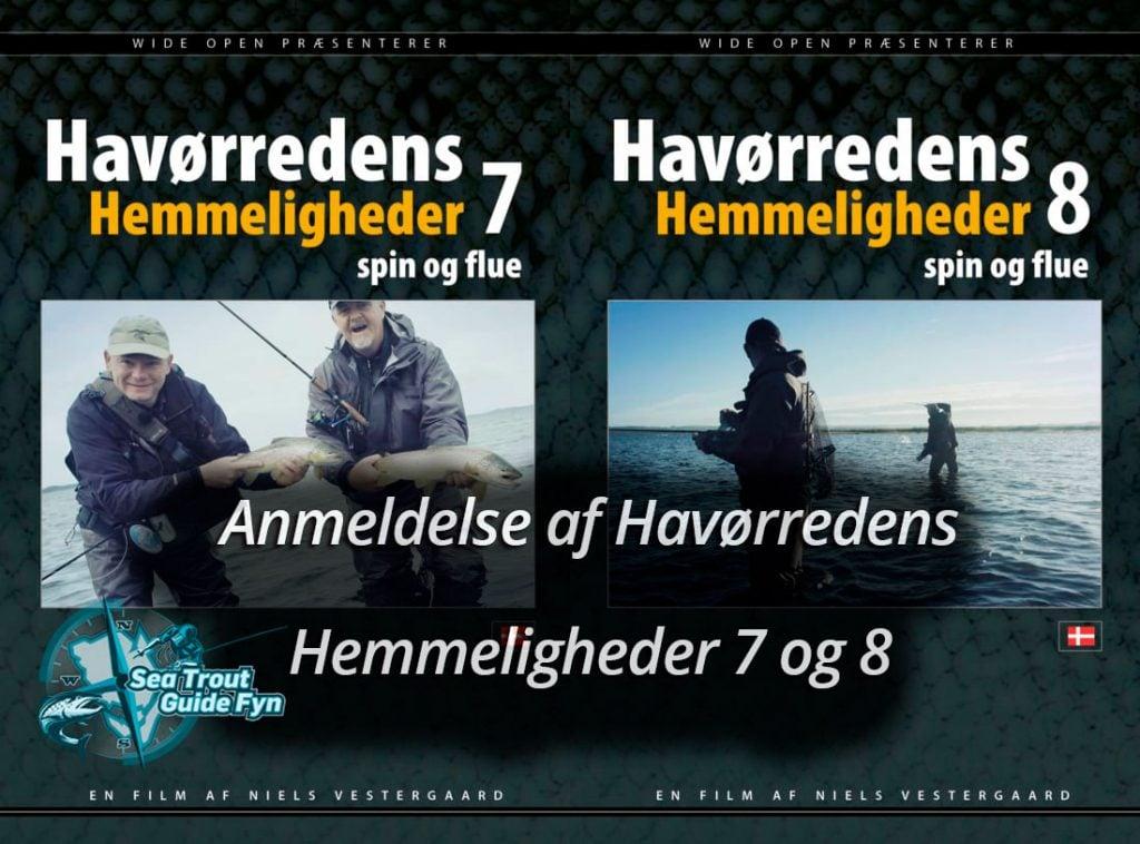 Anmeldelse af Havørredens Hemmeligheder 7 og  8