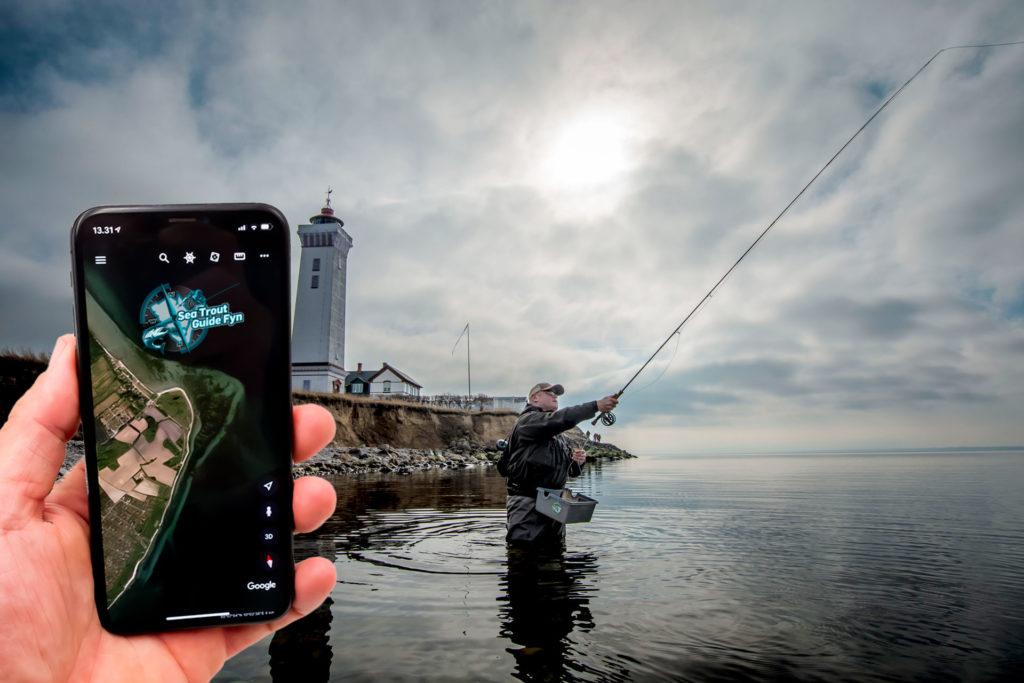 google Earth.Mobil kysten