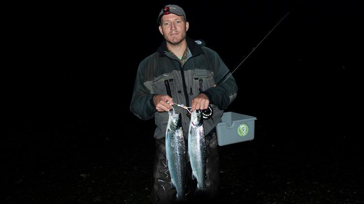 natfiskeri efter havørred
